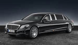 Mercedes Maybach Revealed 2017 Mercedes Maybach S 600 Pullman Guard