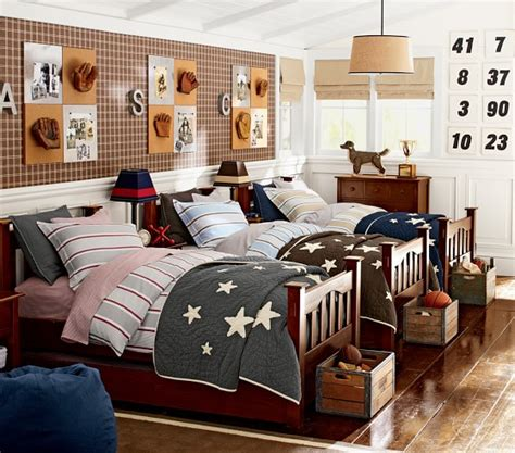 pottery barn boys room quilted bedding pottery barn