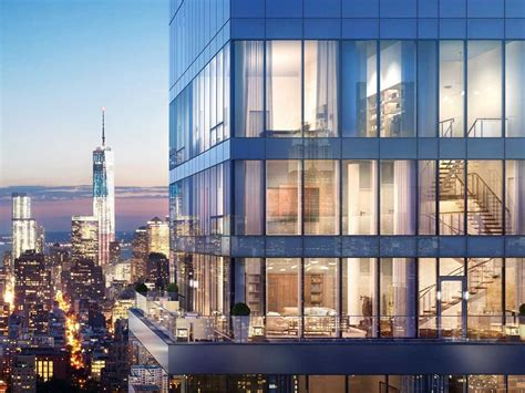 Luxury Apartment Building Ny One 50 Million Triplex Penthouse Business Insider