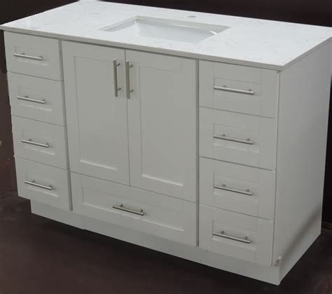 Bathroom Vanity With Bottom Drawer 60 Single Solid Wood Bathroom Vanity With Bottom Drawer Toronto Cabinetry