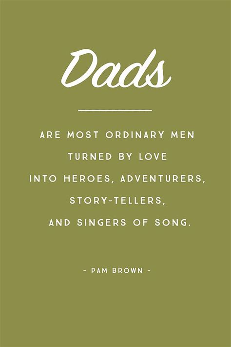 5 inspirational quotes for father s day pam brown singers and dads