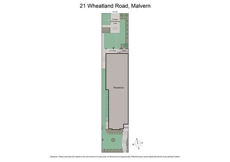 House Floor Plan Floorplan 21 Wheatland Road Malvern 3144 Vic House For