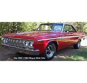 Mopar Of The Month  1964 Plymouth Sport Fury