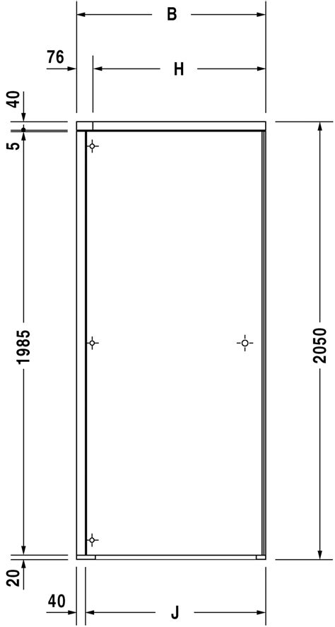 Shower Screen Dimensions by Duravit Openspace Shower Screens Shower Screen 770005