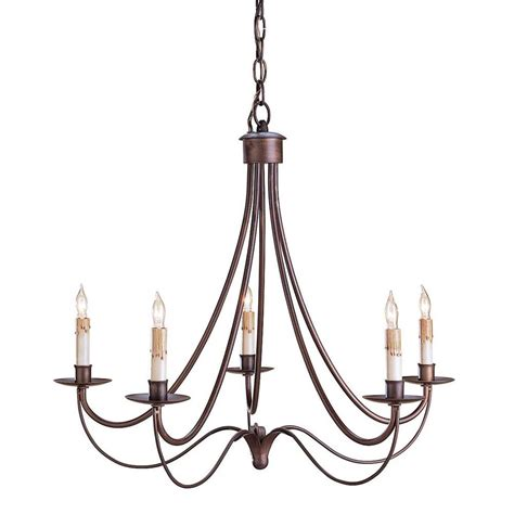 Rot Iron Chandeliers Melisenda Country Rubbed Bronze Wrought Iron Chandelier Kathy Kuo Home