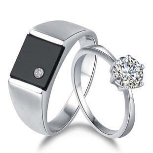 cin cin titanium emas gambar cincin tunangan warna hitam gambar okt