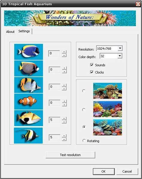3d aquarium design program 3d tropical fish aquarium screensaver software informer