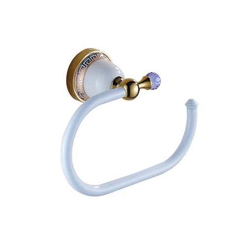 designer polished brass bathroom towel ring 72 99