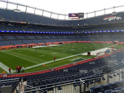 sports authority field sections sports authority field section 128 rateyourseats com