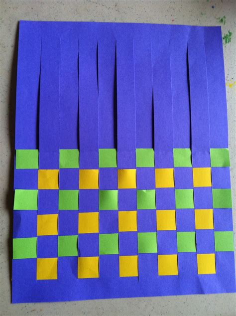 How To Make A Paper Weave - the map is not the territory mathematical weaving part 1