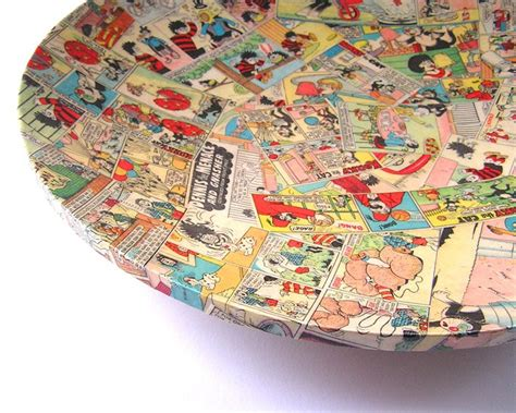Decoupage Artists - pop decoupage platter