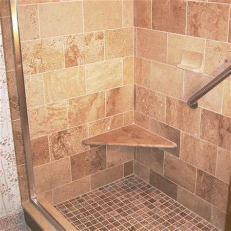Travertine Tile Bathroom Ideas Decor Classic Travertine Tile Shower Design Ideas Pictures