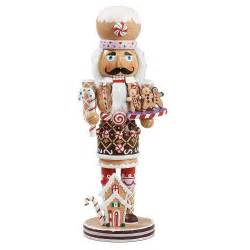 kurt adler 16 inch wooden gingerbread christmas nutcracker new