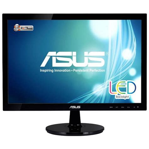 Monitor Komputer Led asus vs197de 19 quot led monitor