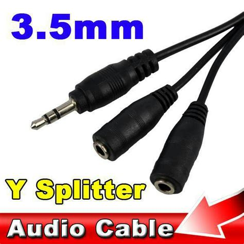 Kabel Aux Dual Colours 35mm Audio Aux In Cable jual splitter audio cable 3 5mm to dual 3 5mm adapter aux kabel hobiki estore