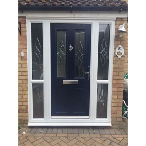 curtains for side door panels black carnoustie traditional composite door with 4 side