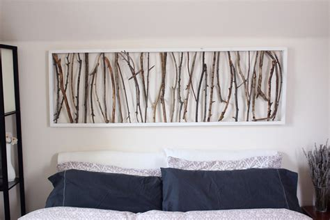 headboard art diy branch art headboard emorie kidder
