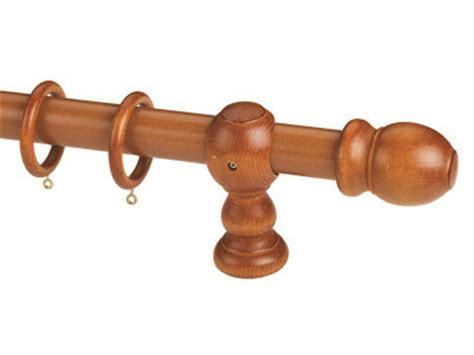 cherry wood curtain rods wooden curtain rods