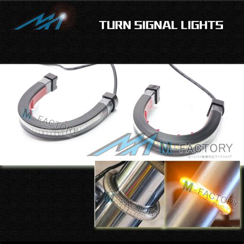 led turn signal lights led turn signals lights indicator for fork fit moto guzzi
