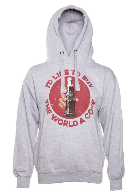 Hoodie I Like To Get High 7dqk i d like to buy the world a coke hoodie