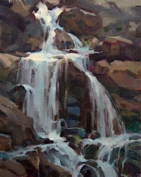 watercolor waterfall tutorial 17 best ideas about waterfall paintings on pinterest