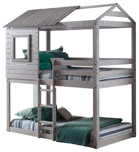 clubhouse bunk bed cbell s clubhouse bunk bed transitional bunk beds by totally kids fun
