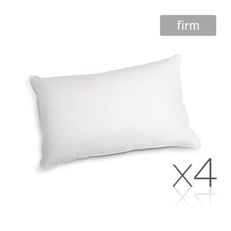 Firm Pillow by Set Of 4 Pillows Firm