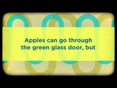Tricky Riddle 11 Green Glass Door Youtube Green Glass Door Riddle Answer