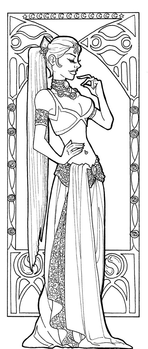 art nouveau coloring pages adults art nouveau coloring pages to download and print for free