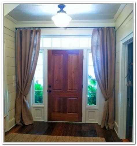 Front Door Window Treatments Window Treatments Design Ideas Window Treatment For Front Door