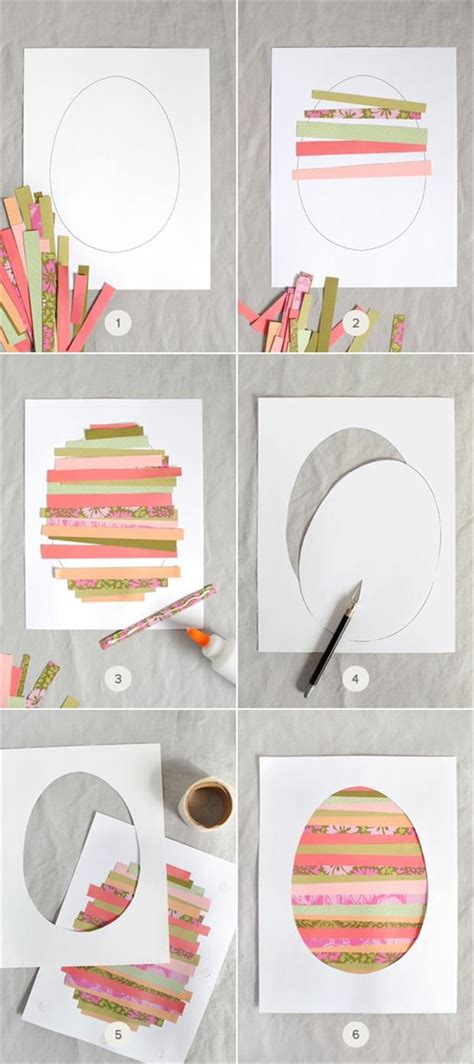 Do It Yourself Paper Crafts by 22 Do It Yourself Easter Craft Ideas