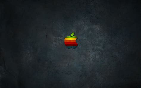 Lu Opple colored logo and apple mac wallpaper walls 9