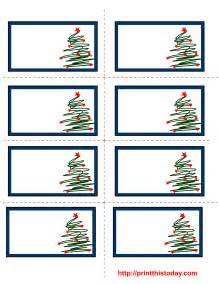 free printable christmas labels with trees