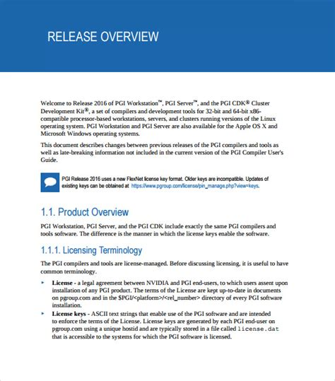 software release notes document template sle release notes 9 documents in pdf