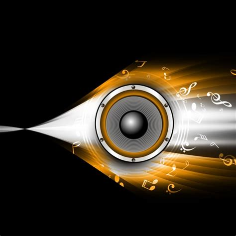 speaker background abstract background with speaker vector free