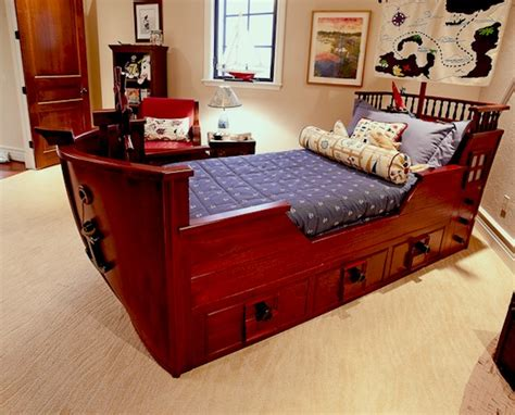 the ultimate pirate ship bedroom my modern met pirate ship bed home staging accessories 2014