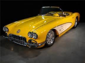 1959 chevrolet corvette custom convertible 96169