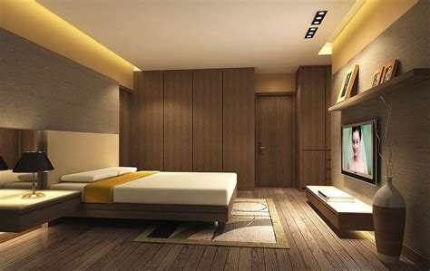 Interior Design Ideas For Bedroom Walls Bedroom Interior Ideas Wardrobe And Tv Wall 3d House Free 3d House Pictures And Wallpaper