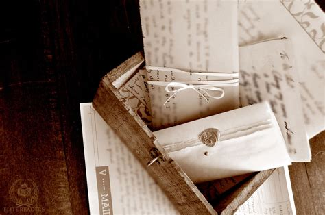 Of Letter Box dying left his a shoebox of letters