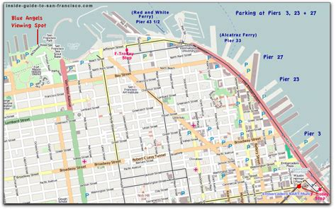 san francisco map pier 33 map pier 33 gallery