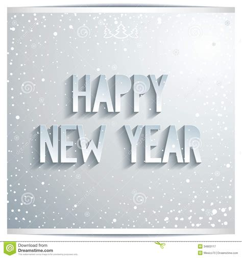 happy  year white lettering  grey background stock image image  season grey