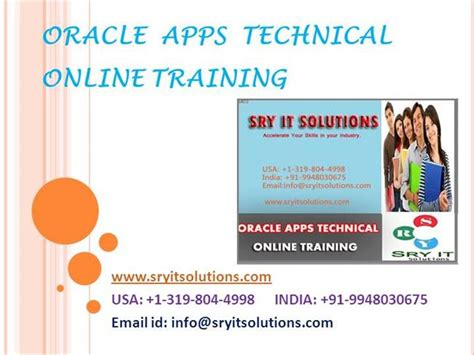 oracle tutorial for experienced oracle apps technical online training in hyderabad apps