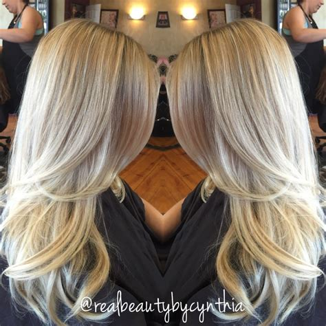 ptatinum highlights on brown hair pics for gt platinum blonde and brown highlights