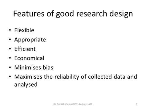 good layout features 3 research design