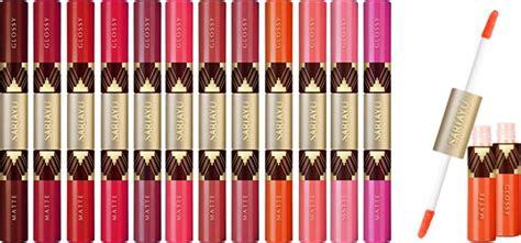 Lipstik Sariayu Duo Lip 5 lipstik matte buatan indonesia pilihan bazaar