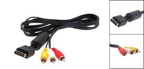 Kabel Av Multi Out Ps2 ps3 av kabel audio de pspdokter webshop voor ps3