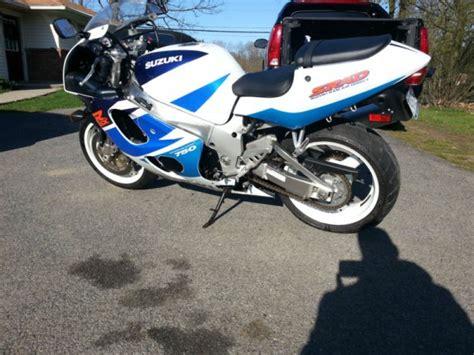 97 Suzuki Gsxr 750 You It S Rad 1997 Suzuki Gsx R750 Srad