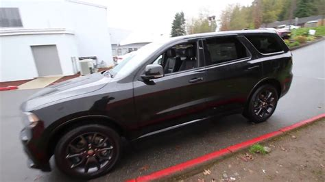 jeep durango blacked out 2016 dodge durango r t black gc360360 redmond