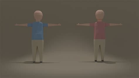 Blender Tutorial Low Poly Character | low poly character blender by lacron on deviantart