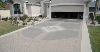 Concrete driveway ideas galleryhip com the hippest